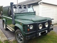 LANDROVER Tax exempt 1964 300tdi disco engine and box