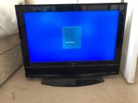 Acoustic Solutions 32inch TV black perfect working order