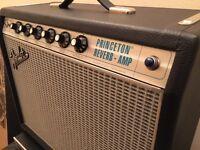 FENDER PRINCETON 68 CUSTOM REVERB ALL VALVE GUITAR AMP - combo amp