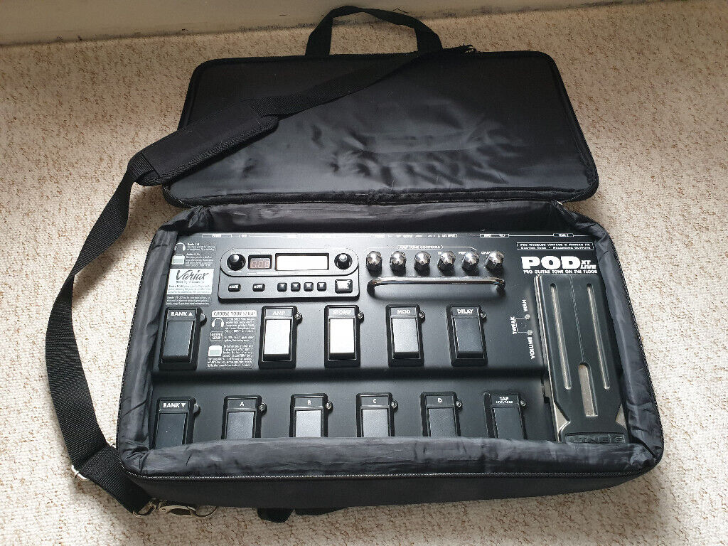 Line 6 POD XT Live Guitar Effects/Amp Modeller With Line 6 Account (patch  licenses) | in Ipswich, Suffolk | Gumtree