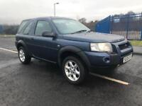 Land Rover freelander td4 xei 92,000 miles 2 owners from new 2005