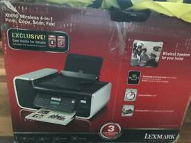 Fully working Lexmark printer and scanner