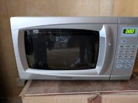 Silver Cookworks Microwave for collection in dalston