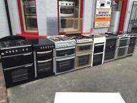 Electric and gas cookers for sale 6 MONTH WARRANTY