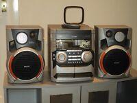 Phillips 3 CD Multi Changer Hi-Fi system
