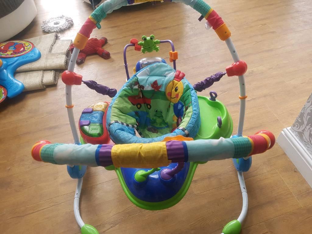 3a6a8c27f Baby Einstein Neighbourhood Friends Activity Jumper   Jumperoo