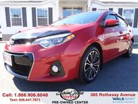 2014 Toyota Corolla S Tech Pack $142.04 BI WEEKLY!!!