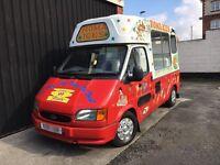 Ford Transit Soft Ice Cream Van Carpigiani Icecream Machine - Morrison - MOT'd - 1998 R - SWB