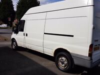 2003 FORD TRANSIT T350 2.4TDI 125 BHP LONG WHEELBASE HIGH ROOF VAN FORD SERVICE HISTORY NO VAT