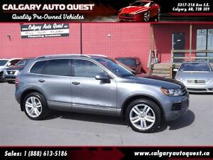2013 Volkswagen Touareg 3.6L Execline AWD/NAVI/B.CAM/LEATHER/ROO