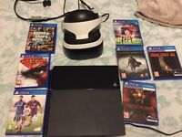 PlayStation bundle includes ps4 virtual reality headset