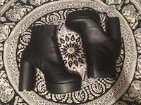 New Look Brand New Black Platform Heeled Boots
