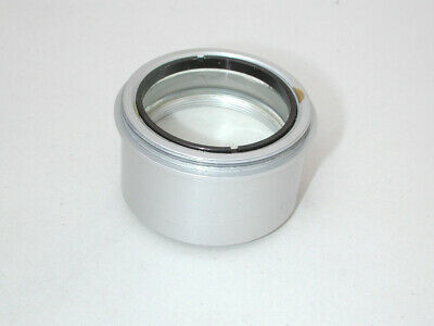 Microscope Auxiliary Objective Lens 46mm Diameter Threads
