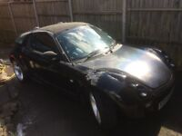 Smart roadster 54 plate coupe