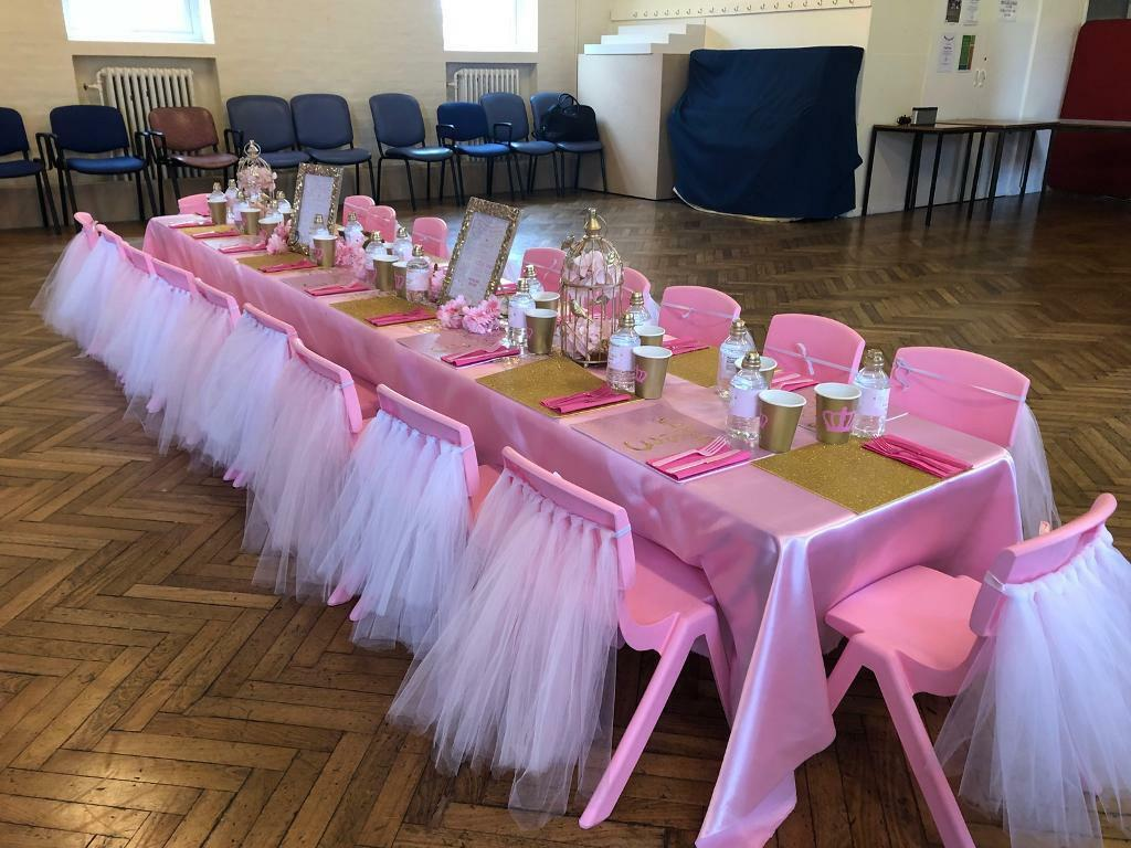 Kids Table And Chair Hire Princess Unicorn Mickey Theme