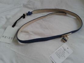REISS lovely blue belt - NEW!