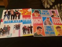 "New kids on the block 7""records"
