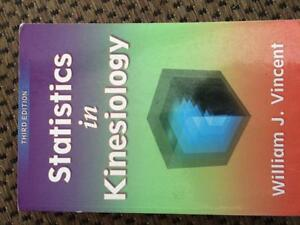 Human kinetics textbooks 1st year second term.  for sale