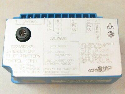 Johnson Controls G776rgd-2 Intermittent Pilot Ignition Control 69j3601