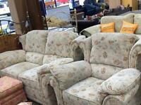 Floral sofa set