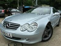 2002 MERCEDES SL500 CABRIOLET, LEATHER,SAT NAV S500GJL