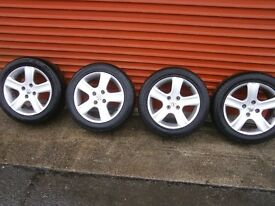 puegot 307 16 in alloys for sale