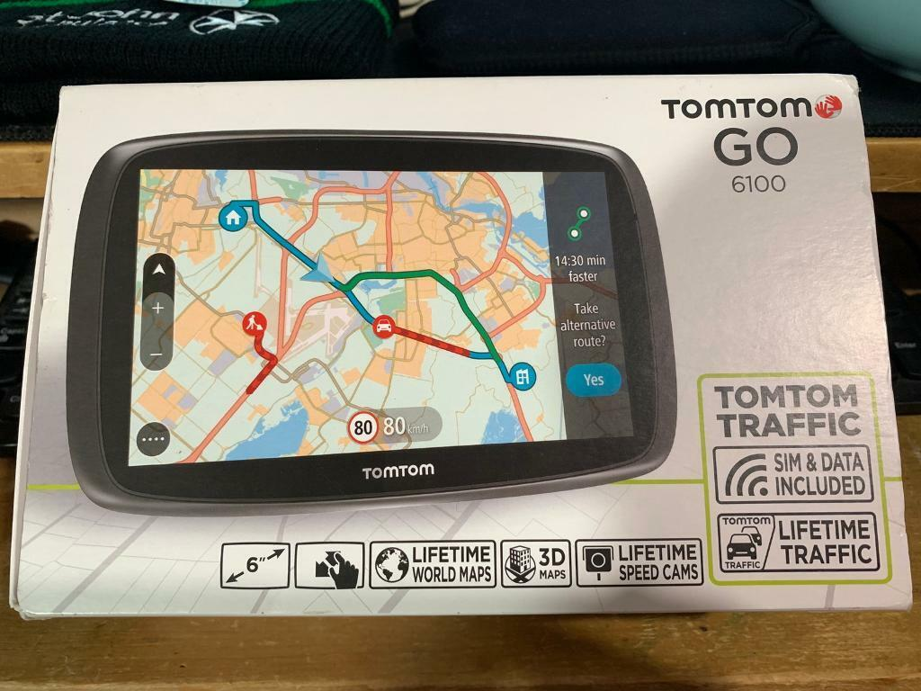 Tomtom Go 6100 Lifetime maps, traffic and speed cameras! | in Dereham,  Norfolk | Gumtree