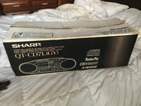 Sharp QT-CD7L Ghetto blaster/Boom Box.