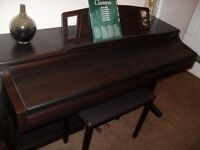 yamaha clavinova clp 860 full size digital piano , in dark rosewood