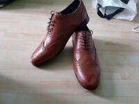 M&S Autograph Mens Shoes Size 9 Brown