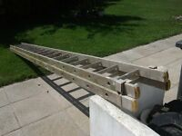 30 foot aluminium double ladder