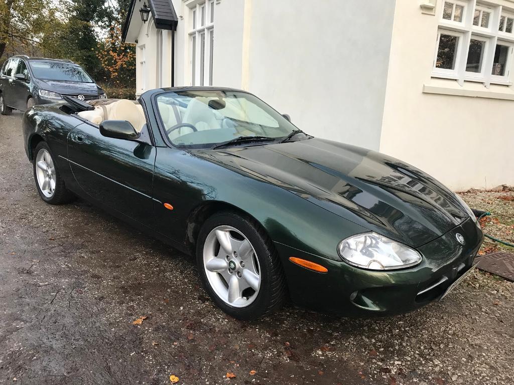 1997 Jaguar Xk8 Convertible Auto 113 000 Miles Spares Or Repairs
