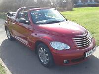 2007 (56) CHRYSLER PT CRUISER LIMITED AUTO CONVERTIBLE 12 MONTHS MOT 84K