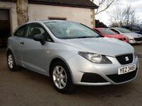 2008 seat ibiza 1.2 petrol new model, low miles, motd april 2018 all cards welcome