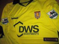 Hummel Aston Villa Juan Pablo Angel shirt, jersey, trikot / 2005-06 /