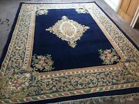 Persian rug navy