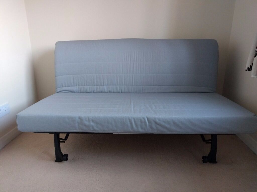 Ikea Lycksele L 214 V 197 S 2 Seater Sofa Bed Amp Foam Mattress In