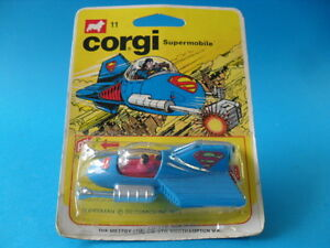 CORGI JUNIORS - 11 SUPERMAN SUPERMOBILE, MIB!