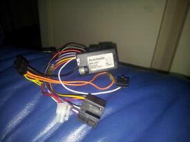 Autoleads pc099-X06 vauxhall adaptor steering multistalk