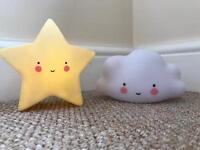 Cute little children's nightlights
