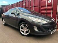Peugeot 308 Convertible 1.6 Petrol Full Year Mot No Advisorys Cheap To Run And Insure !