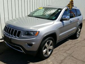 2015 Jeep Grand Cherokee Limited LIMITED/4X4/V6/LEATHER/FACT WAR