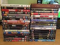 35 DVD films job lot