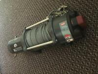 XL 4000lb warn winch never used