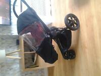 RED QUINNY MOOD PUSHCHAIR