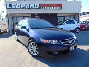 2008 Acura TSX Navigation,Leather,Sunroof*Loaeded*Certified*
