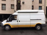 DIY Converted Stealth Camper - Ford Transit t350