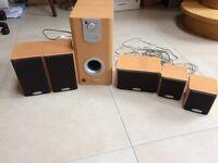 Bush 5.1 speaker system