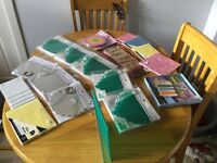 Selection of scrap books