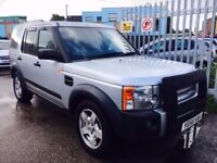 LAND ROVER DISCOVERY 3 2.7 TD V6 S DIESEL MANUAL 2006 FULL HISTORY 7 SEATER